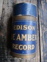 ANTIQUE EDISON RECORD