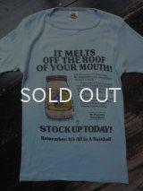 70s〜Mr Elephant's ピーナツバター Tシャツ