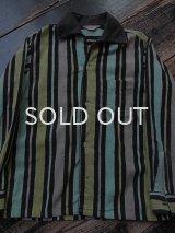 50s キッズサイズ プリントネルシャツ