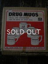 50S SKULL DRUG  MUGS
