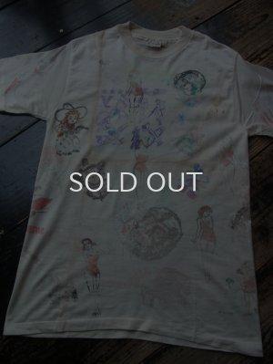 画像1: 50s 使用済み 転写紙 カスタム Tシャツ
