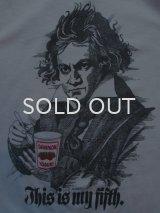 80s ベートーベン ダノンヨーグルト Tシャツ