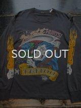 90s JD CROWE TATTOO ロングTシャツ