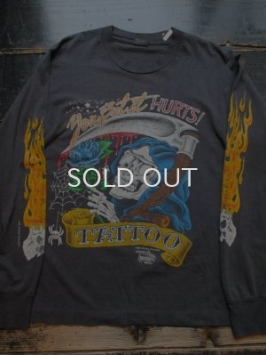 画像1: 90s JD CROWE TATTOO ロングTシャツ