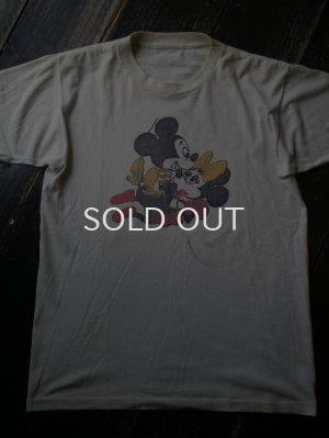 画像1: 80S ミッキー&ミニーSEX Tシャツ